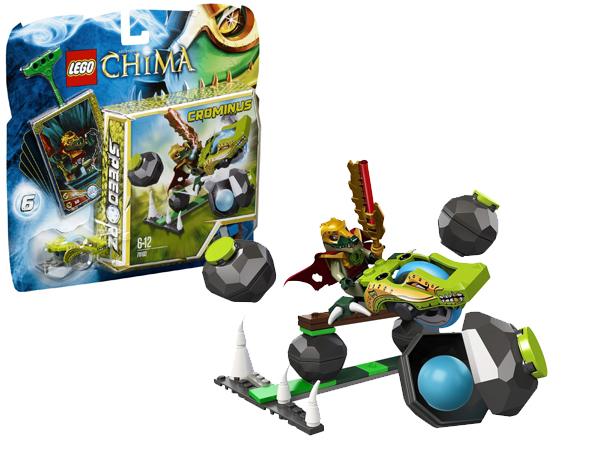 Lego Chima Skalne Kręgle Crominus +Akcesoria 70103